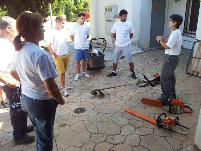 taller jardineria y viverismo