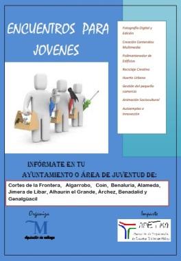 Cartel Cursos Juventud Diputación 2016