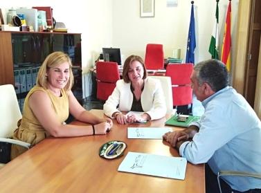 Foto Reunión Apetma Directora General de Formación para el Empleo